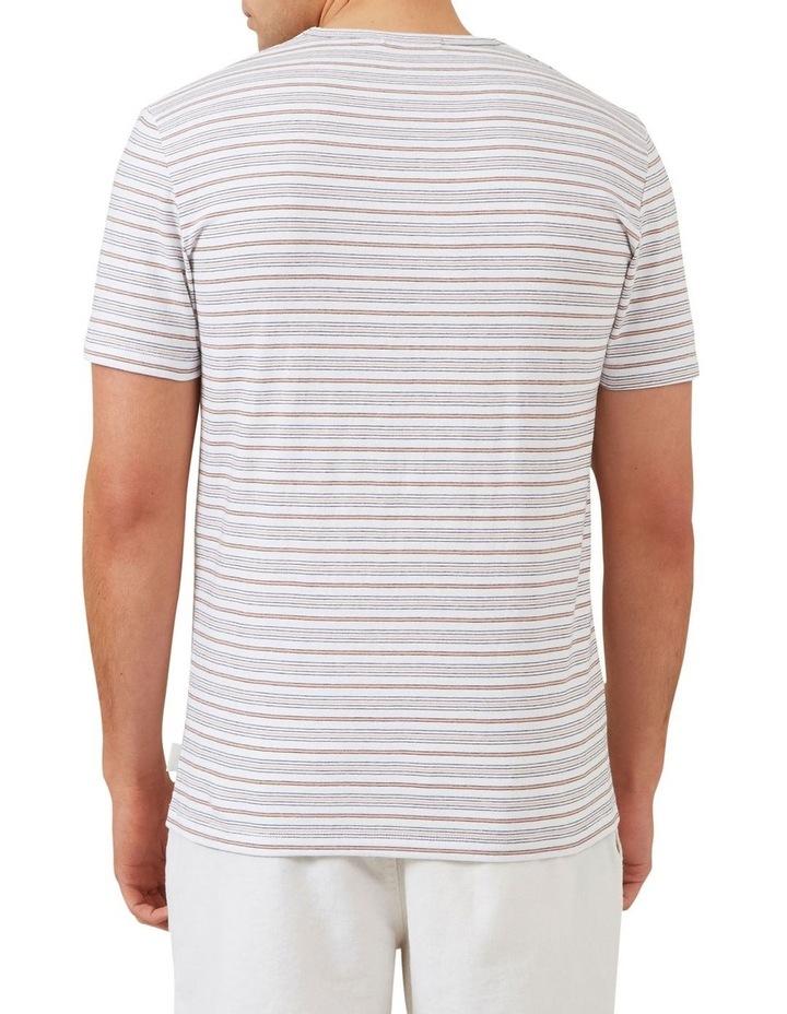Thin Multi Stripe T Shirt image 3