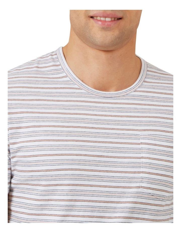 Thin Multi Stripe T Shirt image 4