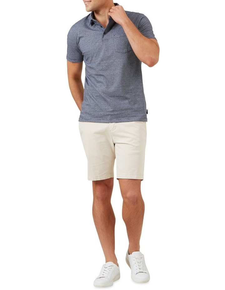 Stripe Jersey Polo image 2