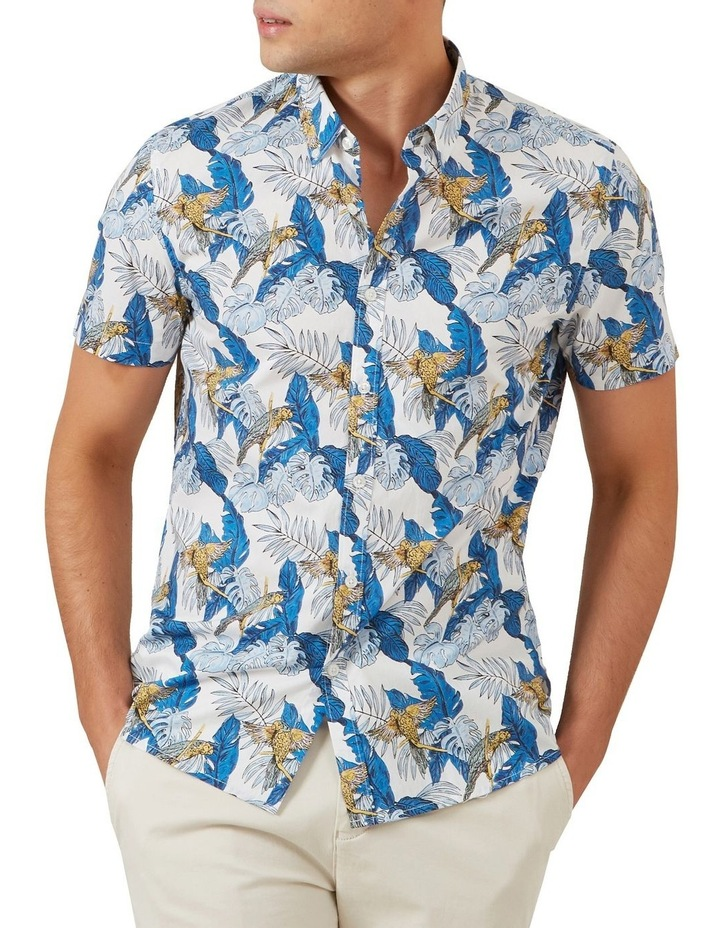 Parrot Leaf Short Sleeve Classic Fit Shirt image 1