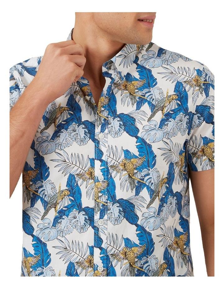 Parrot Leaf Short Sleeve Classic Fit Shirt image 4