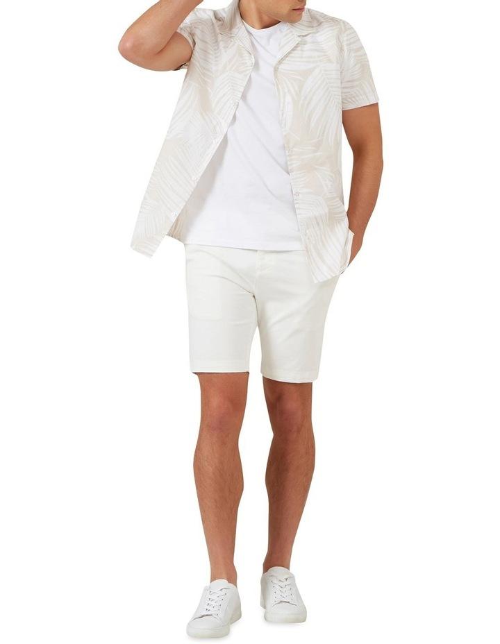 White Palm Short Sleeve Classic Fit Shirt image 2
