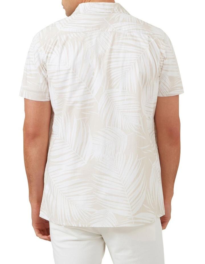 White Palm Short Sleeve Classic Fit Shirt image 3