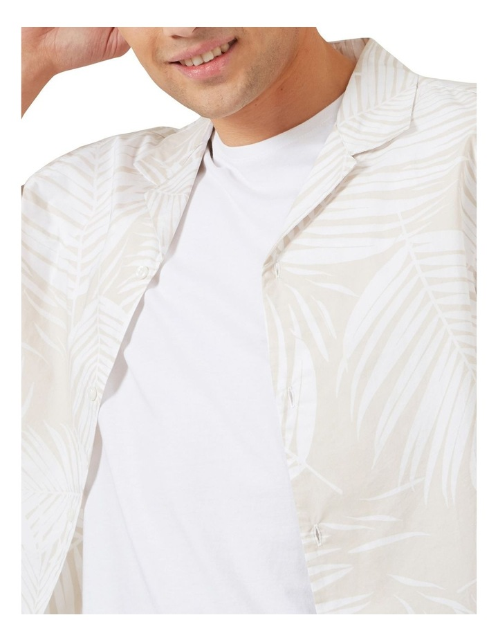 White Palm Short Sleeve Classic Fit Shirt image 4