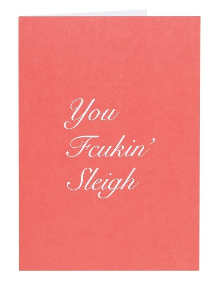 You Fcuking Sleigh Card image 1