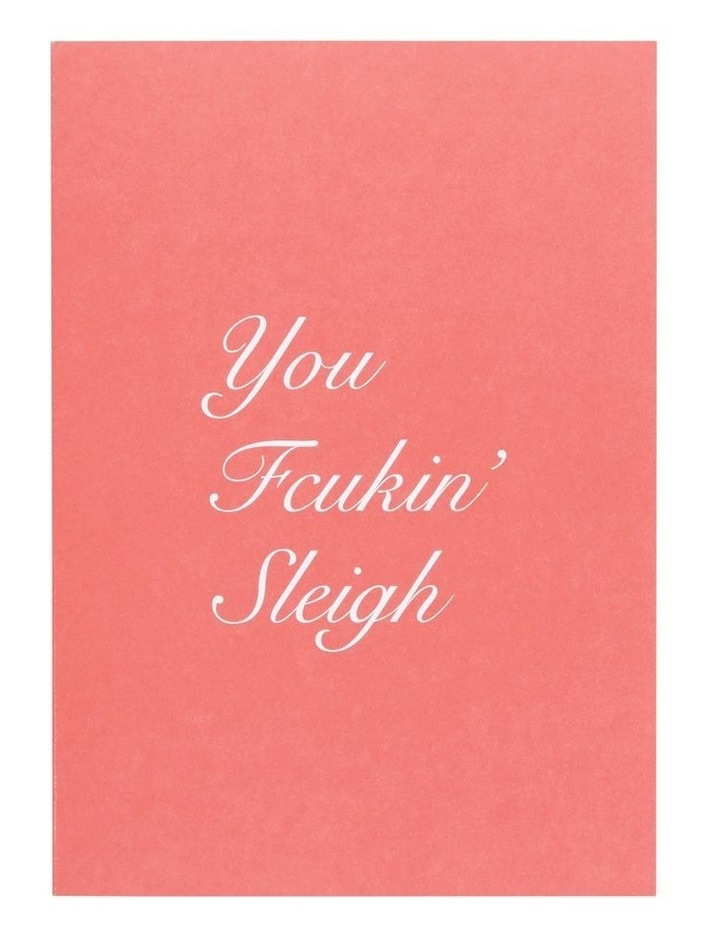 You Fcuking Sleigh Card image 2