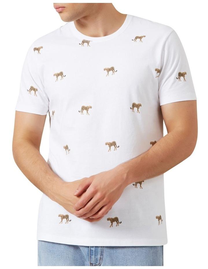 All Over Cheetah T Shirt image 1