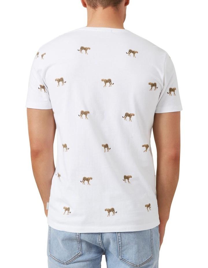 All Over Cheetah T Shirt image 3