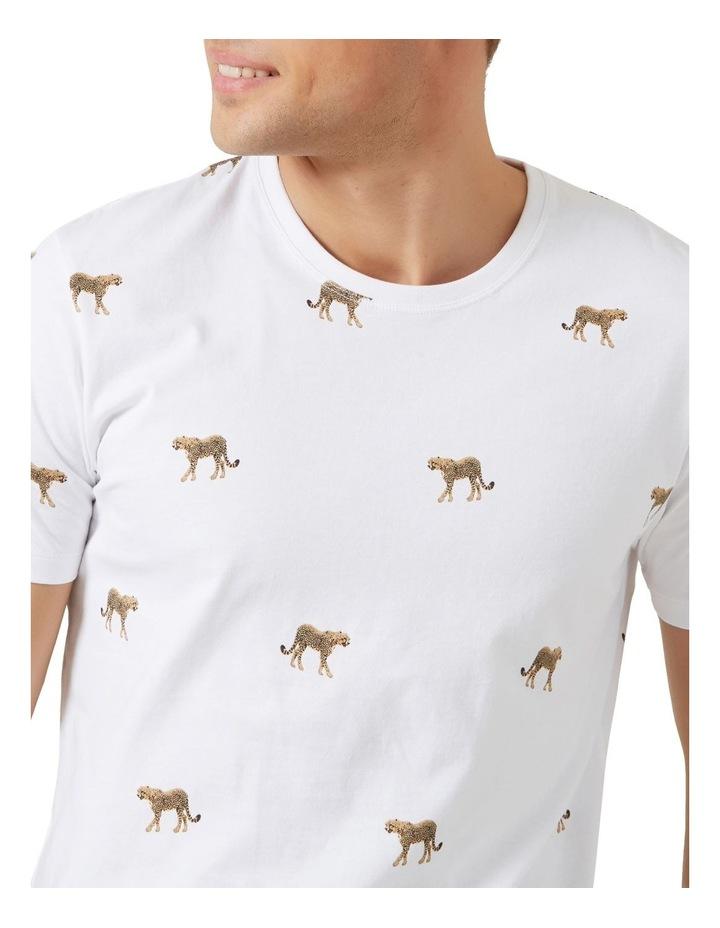 All Over Cheetah T Shirt image 4