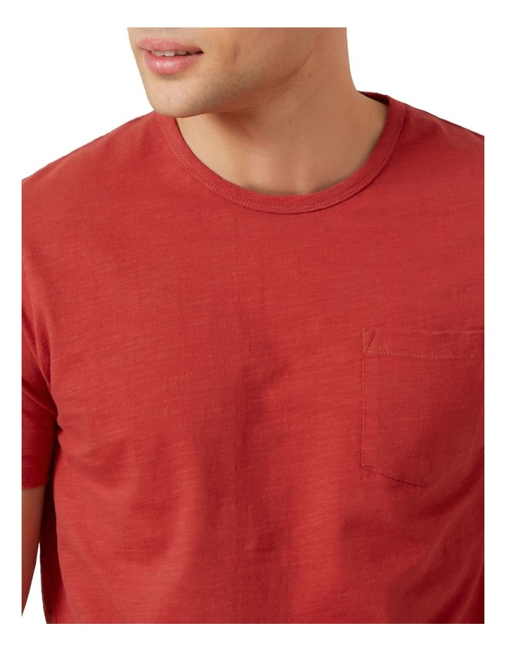 Snow Wash Slub T Shirt image 4