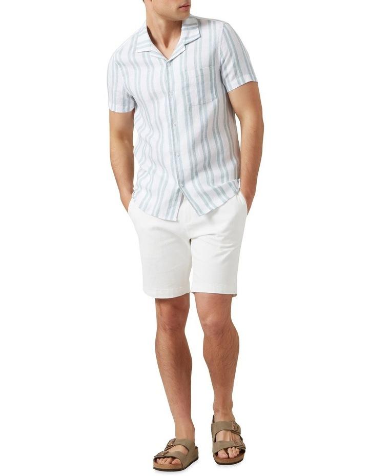 Stripe Linen Classic Fit Shirt image 2