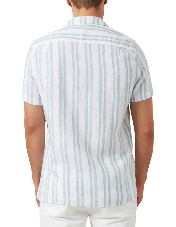 Stripe Linen Classic Fit Shirt image 3