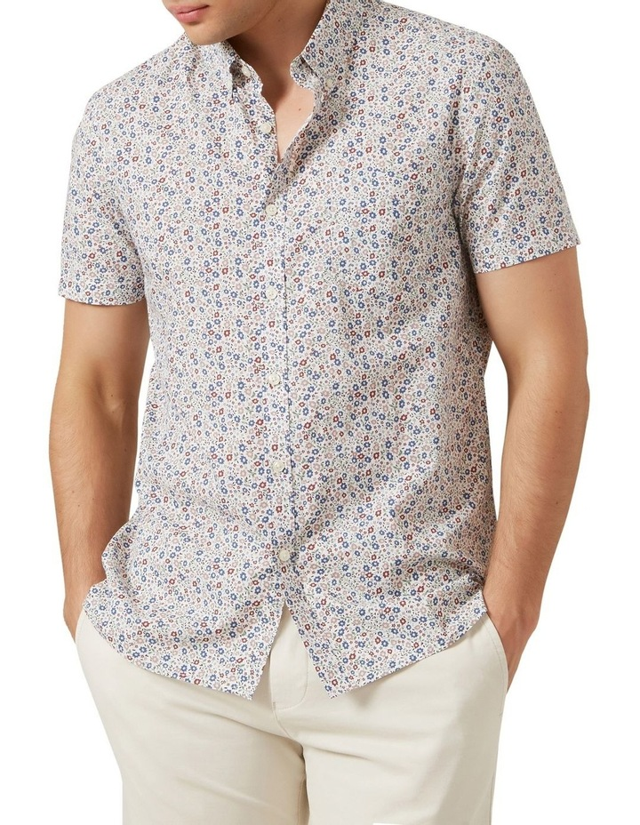 Mini Floral S/S Classic Fit Shirt image 1