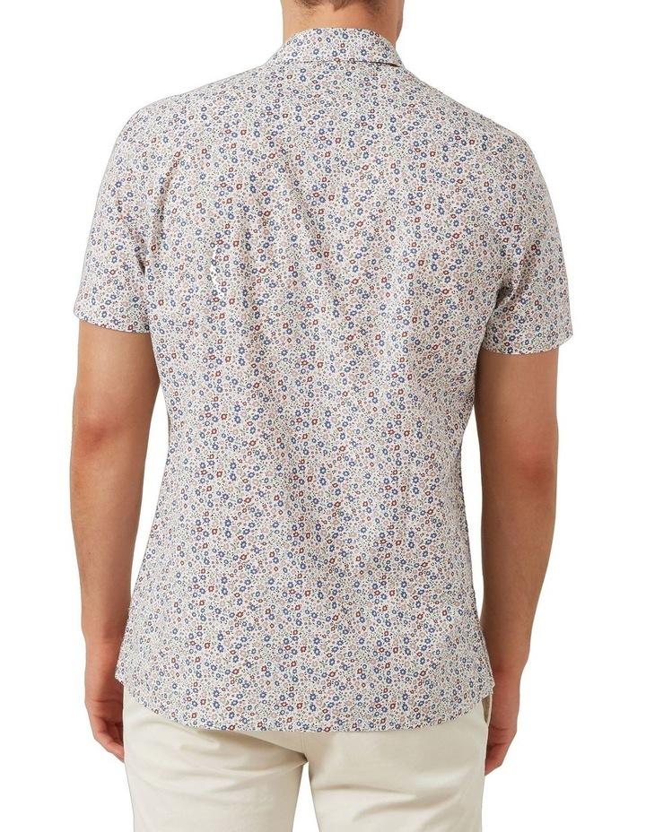 Mini Floral S/S Classic Fit Shirt image 3