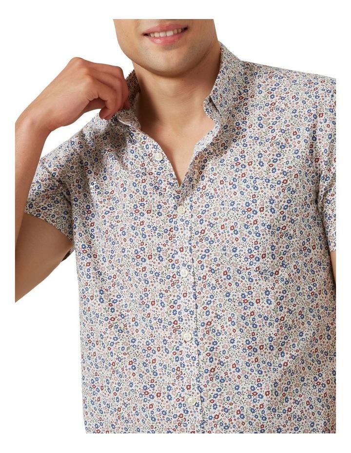 Mini Floral S/S Classic Fit Shirt image 4