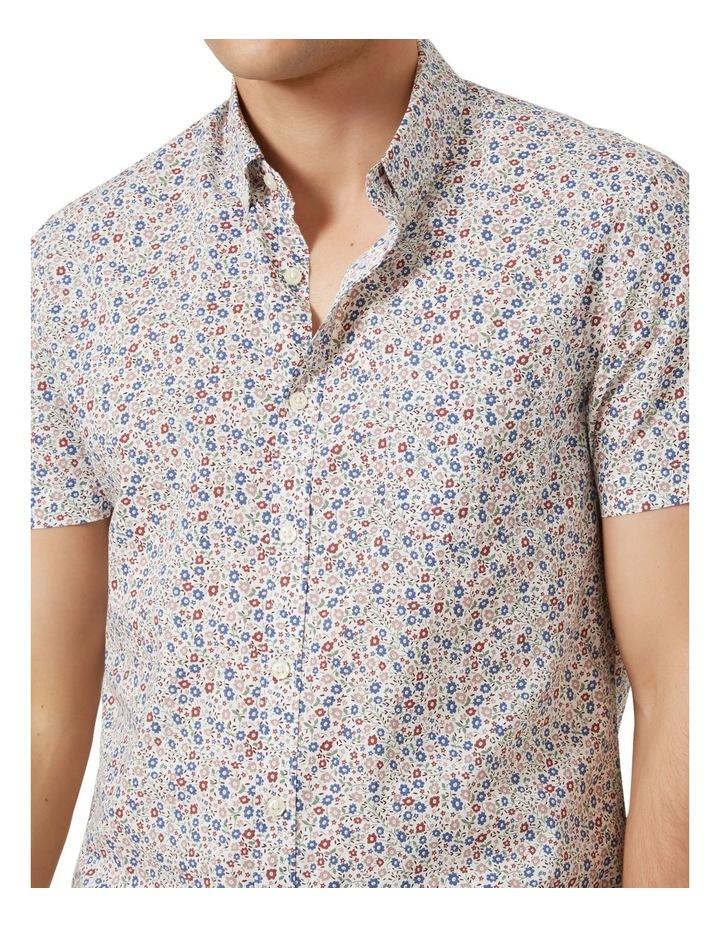 Mini Floral S/S Classic Fit Shirt image 5