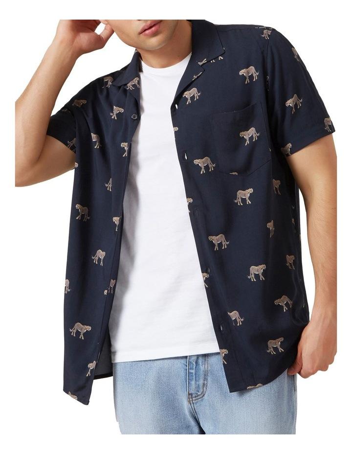 Cheetah S/S Classic Fit Shirt image 1