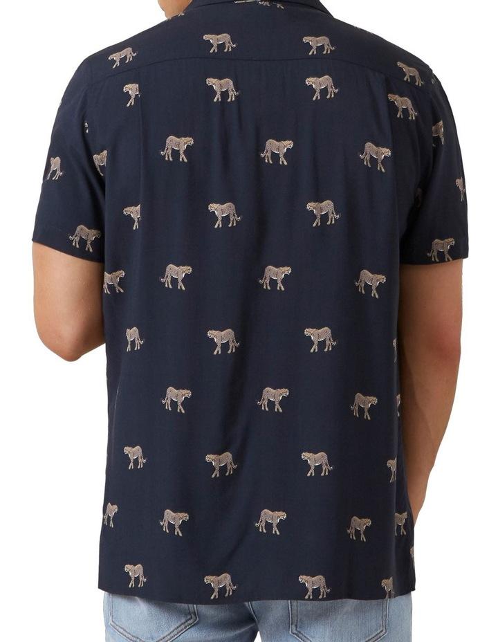 Cheetah S/S Classic Fit Shirt image 3