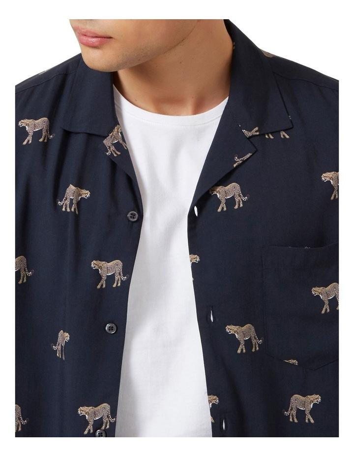Cheetah S/S Classic Fit Shirt image 4
