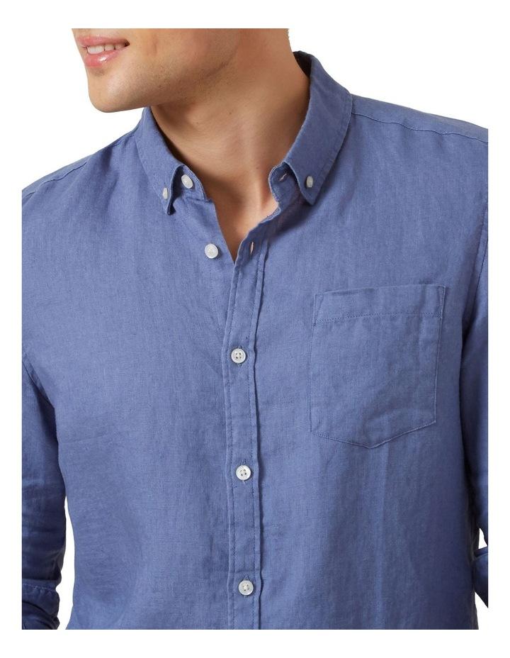 Linen L/S Classic Fit Shirt image 4