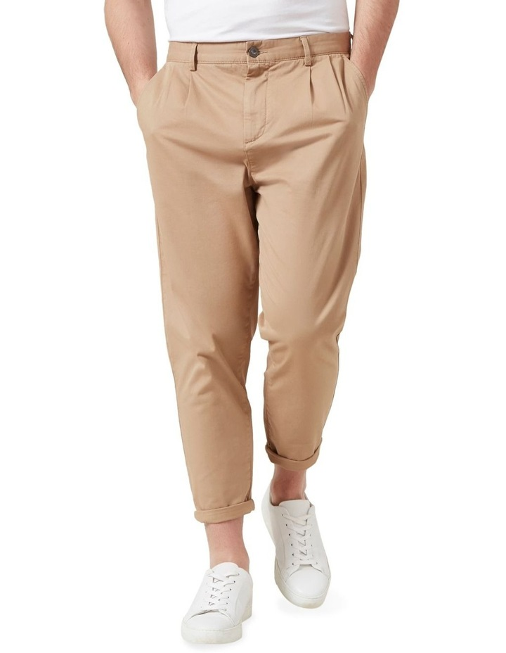 Pleated Stretch Chino image 1