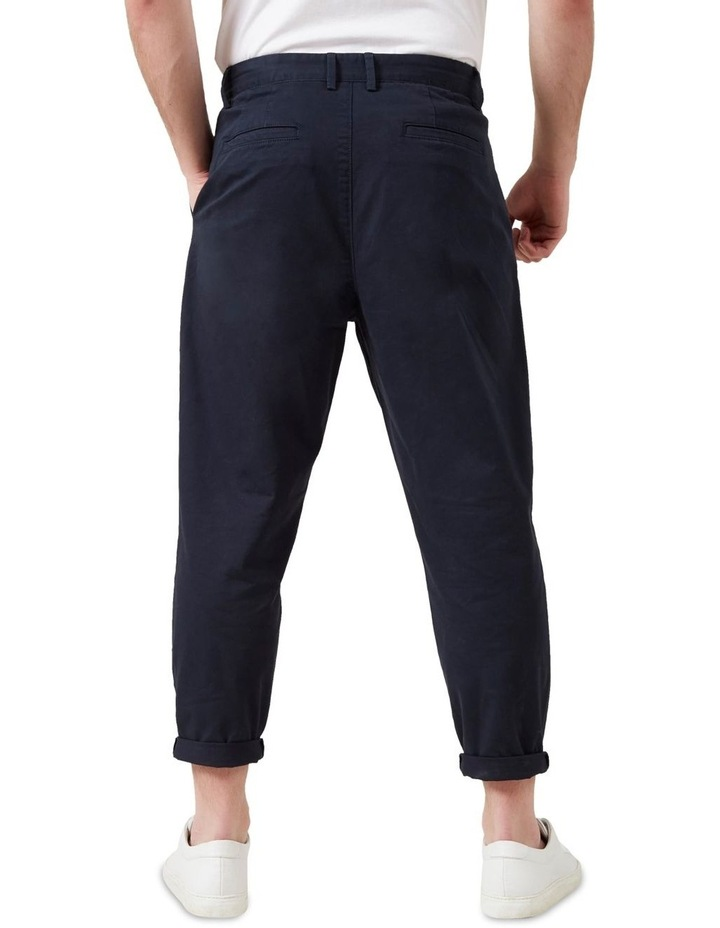 Pleated Stretch Chino image 3
