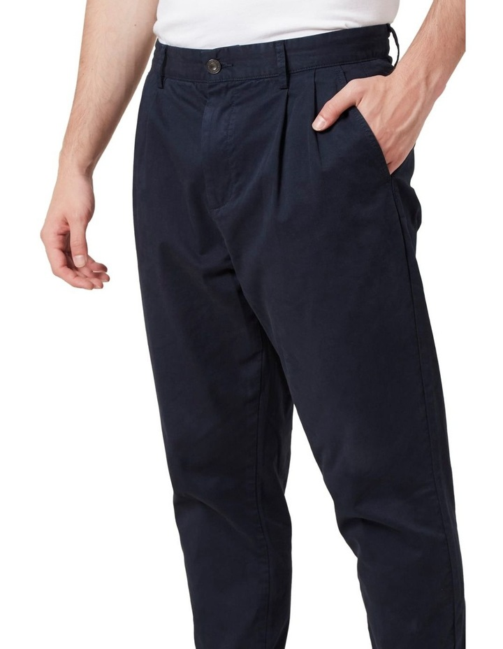 Pleated Stretch Chino image 4