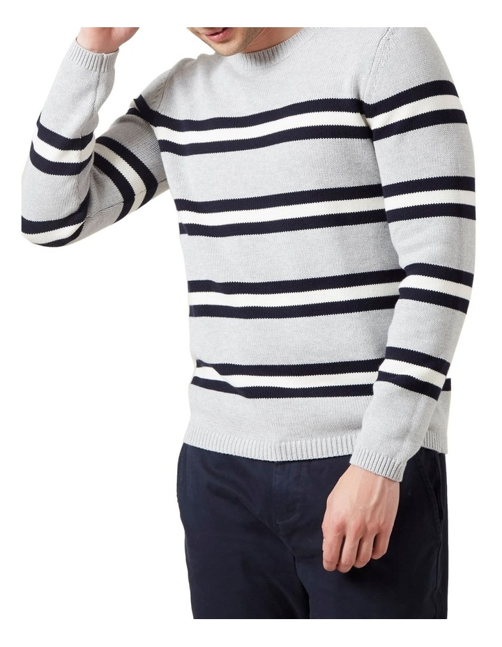 Multi Stripe Crew Knit image 1