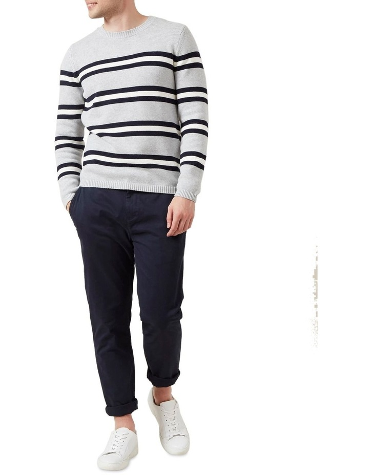 Multi Stripe Crew Knit image 2