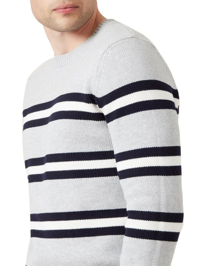 Multi Stripe Crew Knit image 4