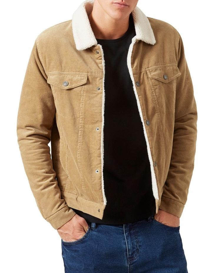Cord Sherpa Jacket image 1