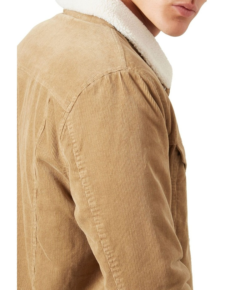 Cord Sherpa Jacket image 5