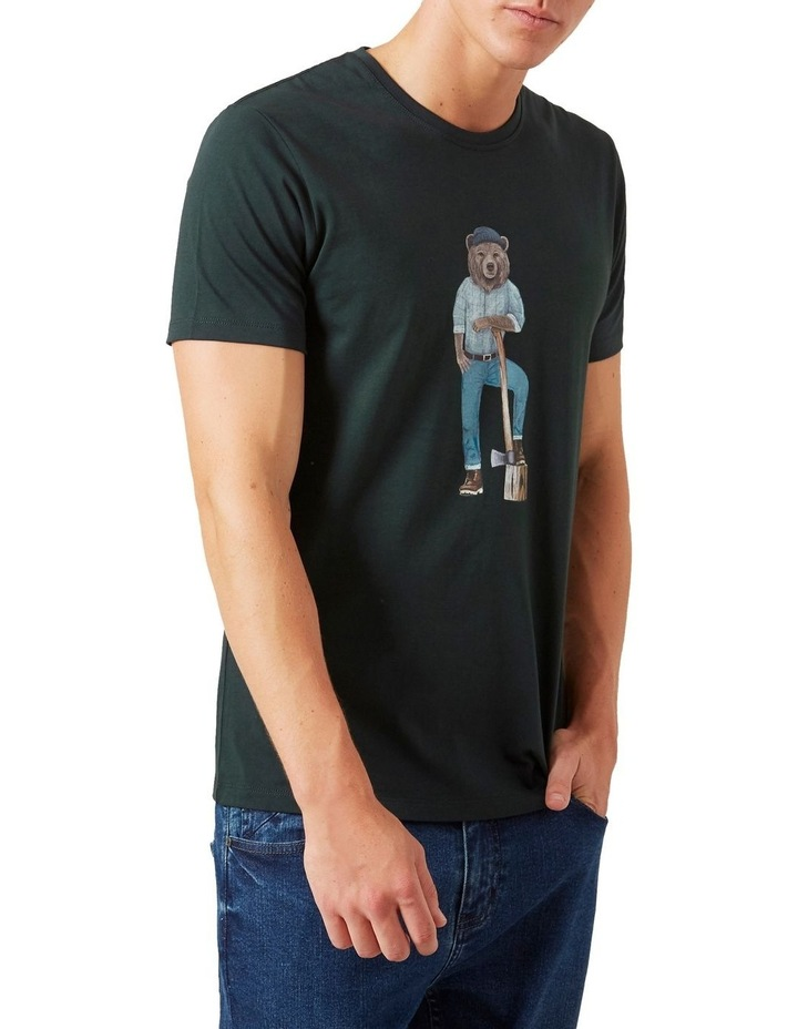 Lumberjack Bear T Shirt image 1