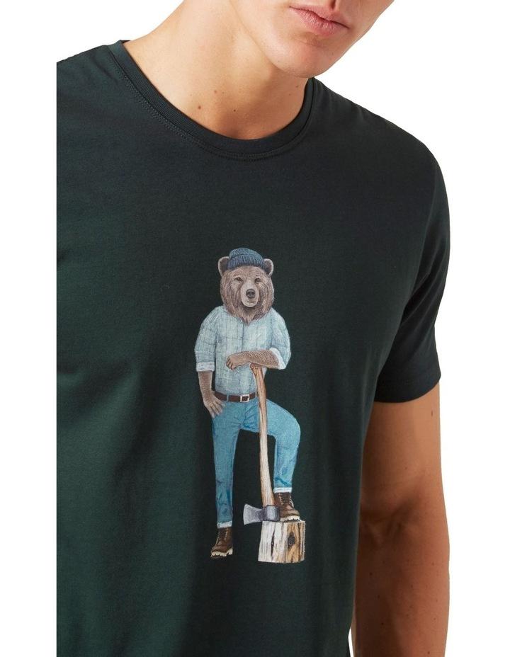 Lumberjack Bear T Shirt image 4