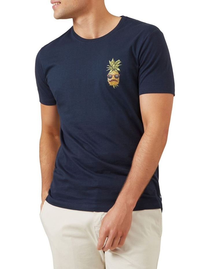 Hipster Pineapple T Shirt image 1