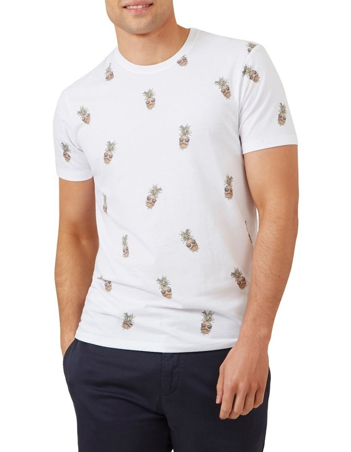 All Over Pineapple T Shirt image 1