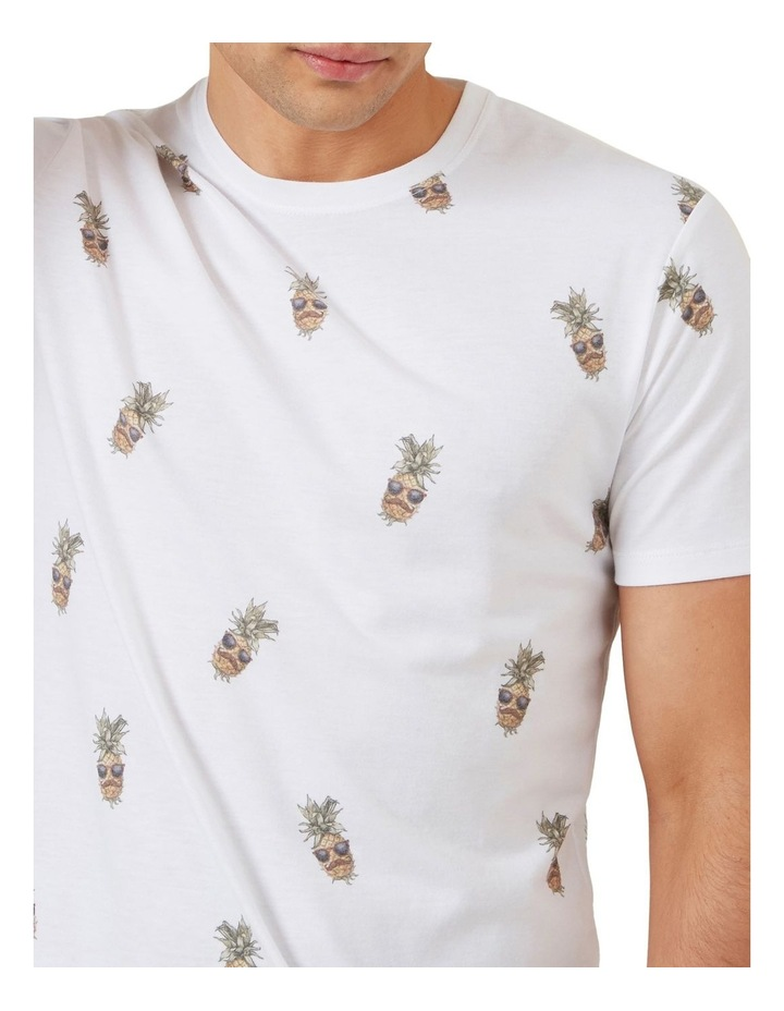 All Over Pineapple T Shirt image 4