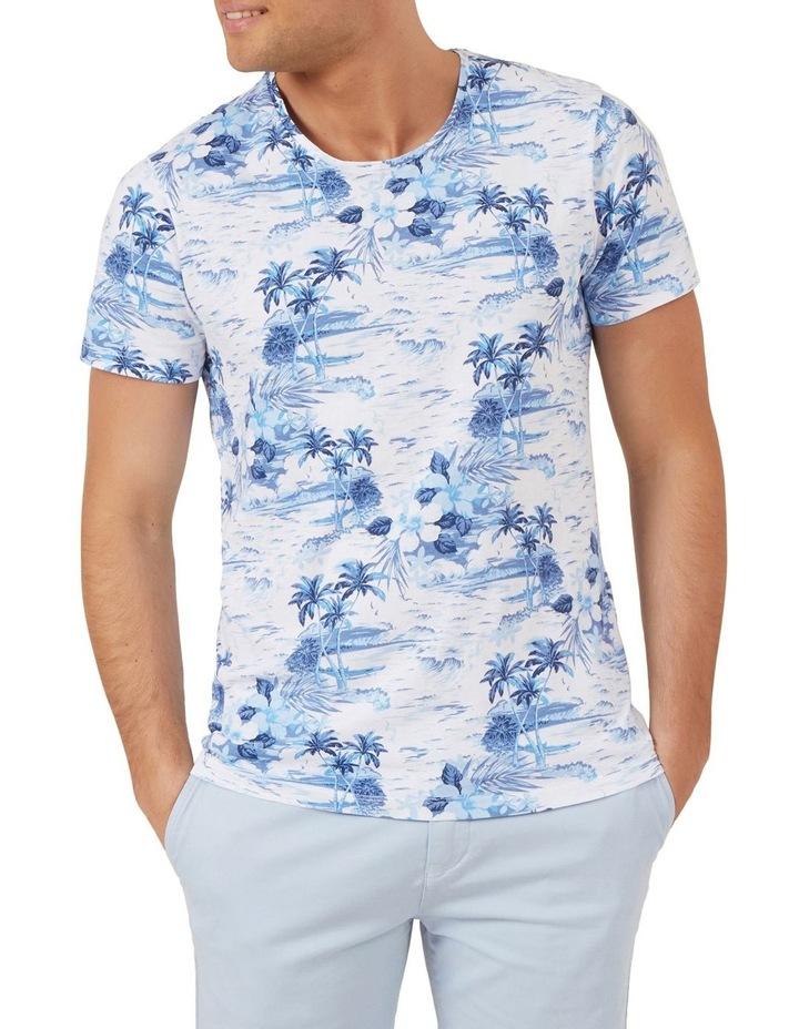 Palm Print T Shirt image 1