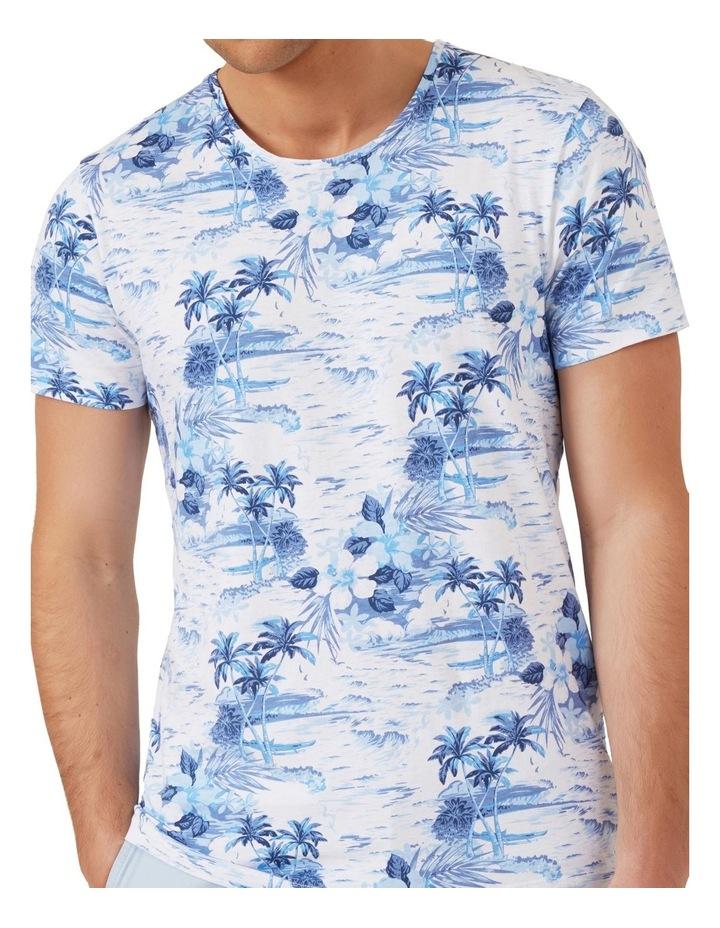 Palm Print T Shirt image 4