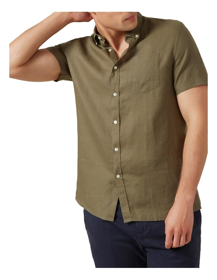 Linen S/S Classic Fit Shirt image 1