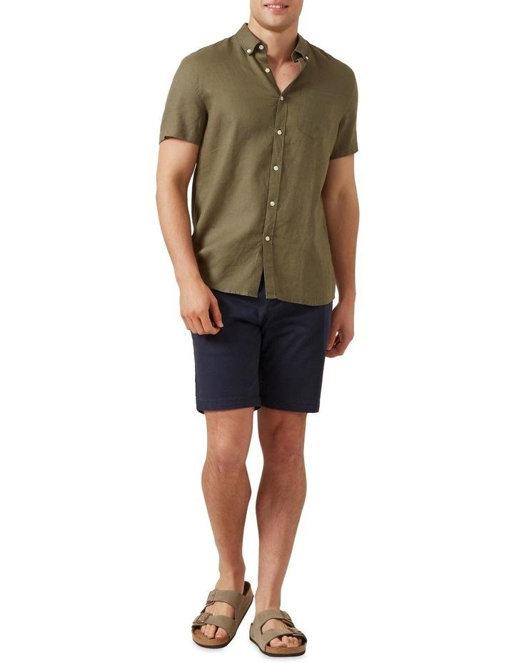 Linen S/S Classic Fit Shirt image 2