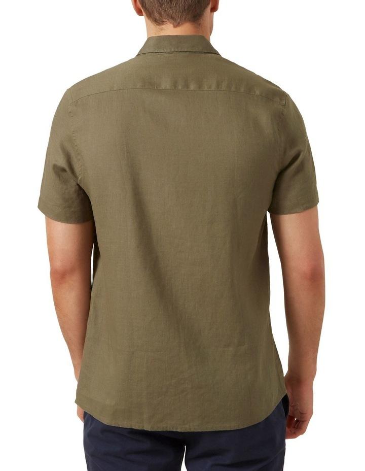 Linen S/S Classic Fit Shirt image 3