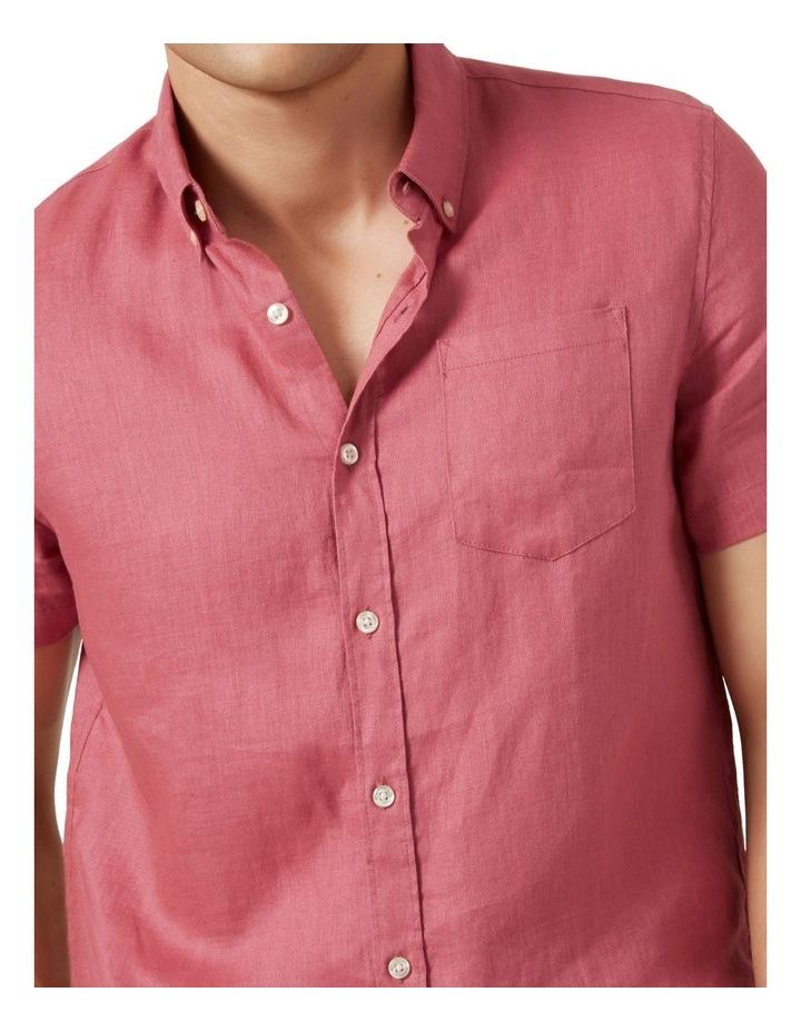 Linen S/S Classic Fit Shirt image 4