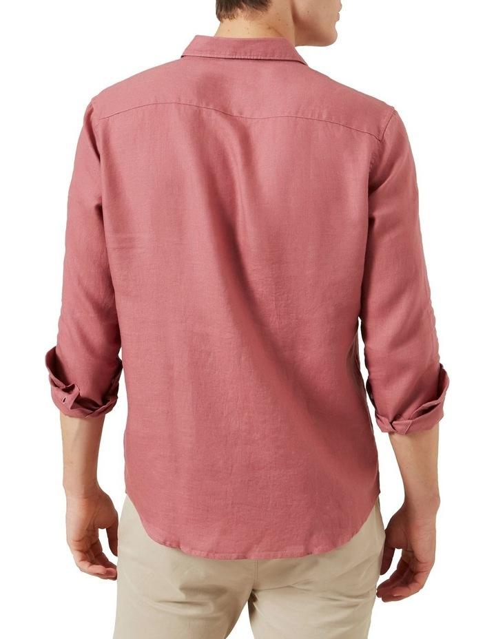 Linen Regular Fit Shirt image 3