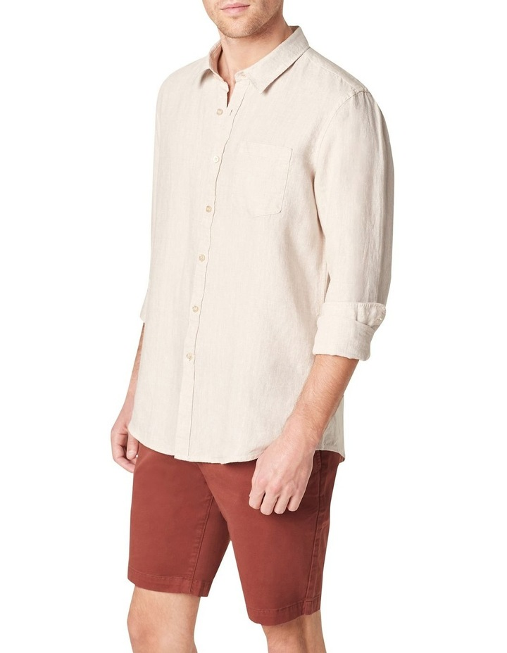 Linen Regular Fit Shirt image 1