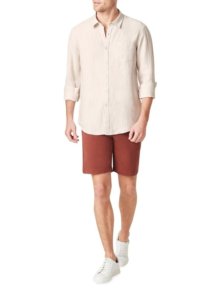 Linen Regular Fit Shirt image 2
