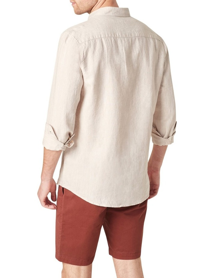 Linen Regular Fit Shirt image 3
