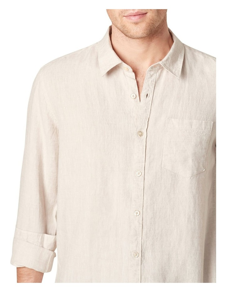 Linen Regular Fit Shirt image 4