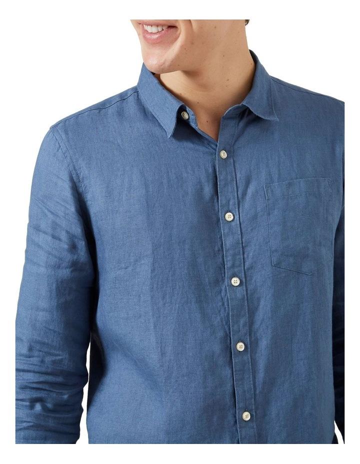 Linen Regular Fit Shirt image 4