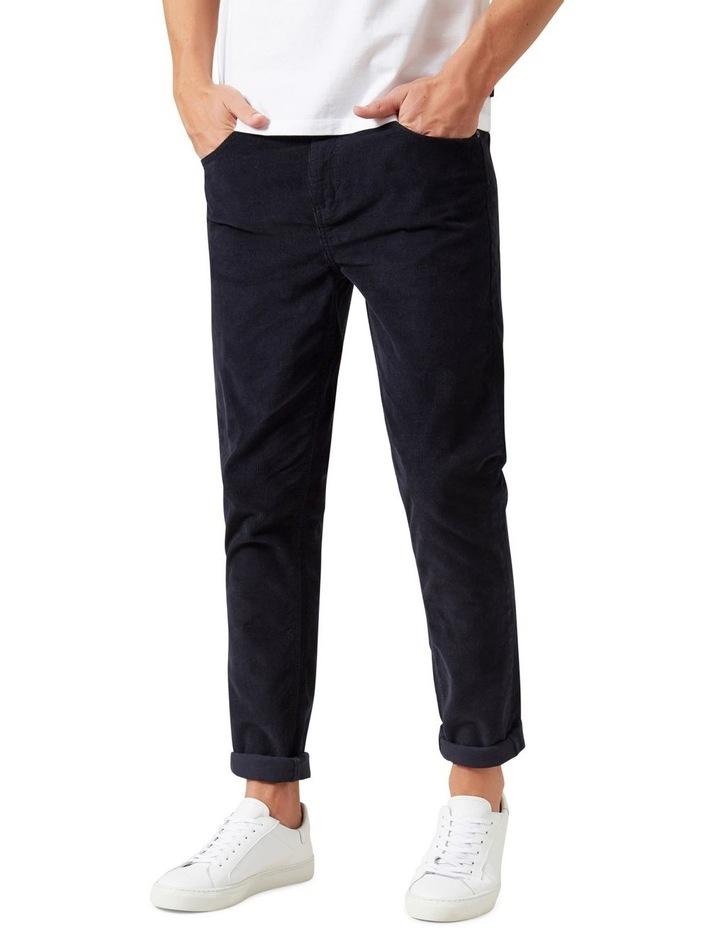 Cord Slim Stretch Jean image 1